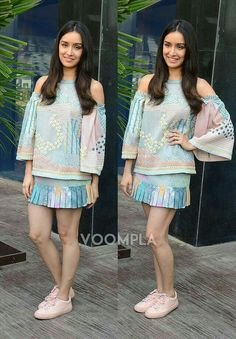 Indian Bollywood, Bollywood Fashion, Bollywood Actress, Bollywood Style, Fashion Idol, Teen Fashion, Fashion Trends, Western Dresses, Western Outfits
