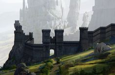 ArtStation - The castle of Knights_castle gate, Kim Eun Chul