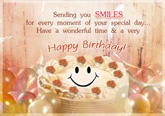 Happy Birthday Wishes for friends