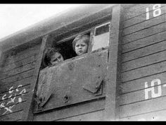 """Cattle car used in June 1941 for the deportation of thousands of people from Estonia to Siberia. """"No people, no problem. Red Army, Shades Of Grey, Cattle, World War Ii, Wwii, Russia, People, Children, Historia"""