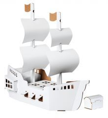 Crafty Wrens' Pirate Ship