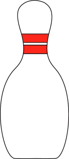 bowling pin clip art google search school spirit pinterest rh pinterest com bowling pin splash clipart bowling pin clip art design