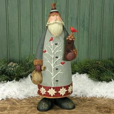 Into the Woods Santa by Williraye Studio