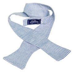 Blue seersucker bow tie. Southern Men, Southern Charm, Sweet Tea, Bow Ties, Seersucker, Groomsmen, Gingham, Patches, Husband
