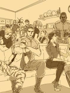 Valentine Resident Evil, Resident Evil Anime, Resident Evil Girl, Resident Evil Franchise, Resident Evil Collection, Albert Wesker, Zombie Apocalypse Survival, Sad Comics, Evil World