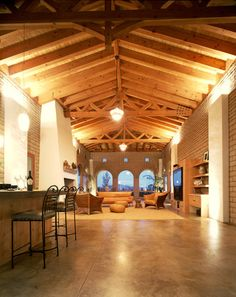 Floor & wood color Acid Stain Concrete Floor Design, Pictures, Remodel, Decor and Ideas - page 8