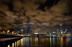 Chicago panoramic by Bogdan Vasilic