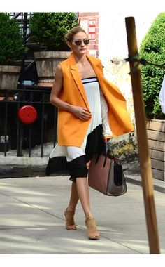 Olivia Palermo WHERE:  On the street, New York City