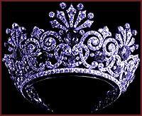 Sapphire tiara worn by Tsarina Alexandra of Russia