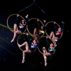 Kellogg's Tour of Champions - The Fierce Five on the Olympic Rings
