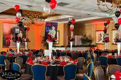 Mitzvah Inspire Comedy theme ballroom