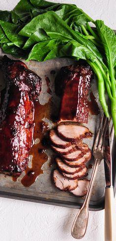 Chinese Barbecue Pork. Char Siu Pork | eatlittlebird.com