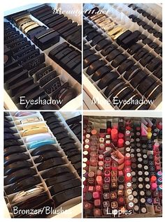 Makeup Organization...start out the new year by being organized! Click thru to see my system!
