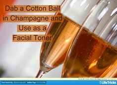 Face - Detoxify Facial Skin With Champagne