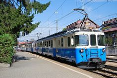 Classic Cars, Old Things, Vehicles, Swiss Railways, Trains, Blog, Vintage Classic Cars, Switzerland, Hang In There