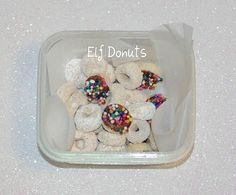 Elf Donuts!! These treats may be small but to kids they are enormous fun!!