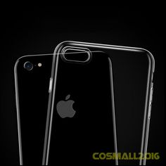 Ultra Slim Soft Transparent Crystal Protective Shockproof Case for iPhone7 7Plus