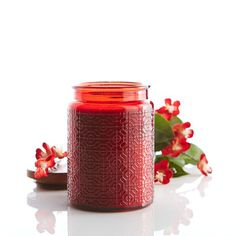 Island Orchard® Geometric Filled Candle