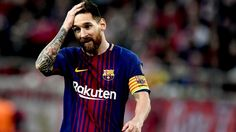 Barcelona's Lionel Messi starts match against Juventus on bench