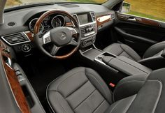 Interior of the Mercedes-Benz ML350.  European model shown.  For more information, visit: http://mbenz.us/ucqVJj