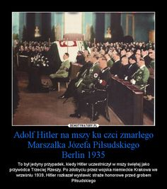 Piłsudski i Hitler 2 Weird Facts, Crazy Facts, Semper Fidelis, Geology, Memes, True Stories, Good To Know, Poland, Everything And Nothing