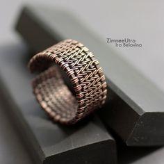 Кольцо мужское :: медь - коричневый,медь,медный цвет,медное кольцо,патинированная медь