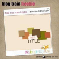 Template freebie from Soco #scrapbook #digiscrap #scrapbooking #digifree #scrap