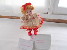 Marie Osmond Candi Cane Toddler Series Tiny Tots Doll COA + Doll Necklace  #MarieOsmond #Dolls
