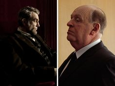 Lincoln Vs. Hitchcock    Who wore him best: Daniel Day-Lewis rocks Honest Abe; Anthony Hopkins murders Hitch. When it comes to Steven Spielberg's presidential narrative and Sacha Gervasi's portrait on the Master of Suspense, we say tie. See both biopics competing in the Oscar race.