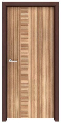 Zebrawood Sirocco Interior Door