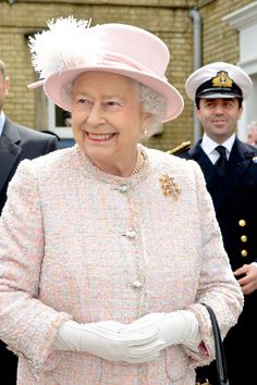 The Queen on a visit to the Rosie Maternity Hospital. During her visit, she visited the hospital's birthing center and met staff and new mums. 23 May 2013