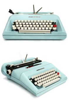 Working Vintage Typewriters For Sale - My Cup Of Retro Typewriter Store Modern Typewriter, Antique Typewriter, Portable Typewriter, Working Typewriter For Sale, Olivetti Typewriter, Vintage Typewriters, Home Gadgets, Kelly Wearstler, Cool Inventions