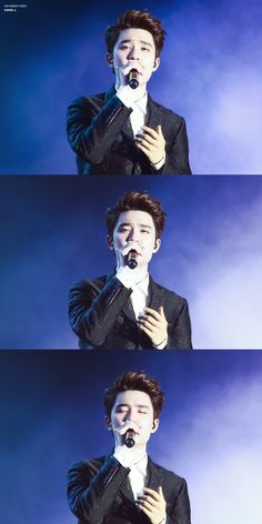 D.O just singing his heart out. He looks so into it. :3 #exo #D.O #Kyungsoo