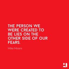 Fear is the absence of faith!