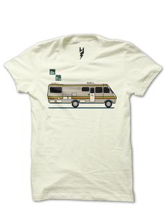 Let's Cook from XTEAS  Breaking Bad Series Inspired Tee  Trivia -The supposedly remote 'desert' sequences where the RV meth cooking sessions were covertly conducted, were simply filmed on the production facility backlot in New Mexico.  Printed on 100% Organic Cotton, XTEAS Premium T-Shirt.