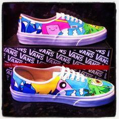 Custom Vans Converse Shoes All Designs. $125.00