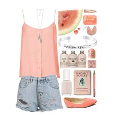 532 by hadar2014 on Polyvore http://www.polyvore.com/m/set?.embedder=6718506&.svc=copypaste-and&id=168822495  featuring polyvore fashion style Topshop Bella Marie Disney Forever 21 Essie Ted Baker Toast
