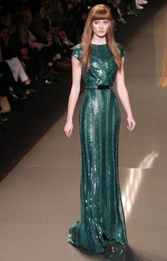 emerald elle saab.