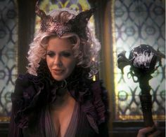maleficent once upon a time   Uploaded to Pinterest