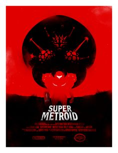 Super Metroid by iwilding.deviantart.com on @deviantART. (Soo impressed) though am I the only one that sees dearth maul?