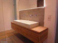 Badezimmer / Waschtisch : Moderne Badezimmer von BECKER INTERIORS
