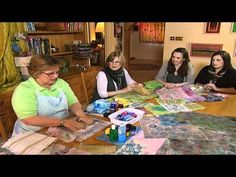 """""""Fabric Dyeing"""" textiles project-textile recycling and how to hand dye fabric - YouTube"""