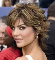 It has been said that Lisa Rinna has had the same hairstyle for 15 years. Lisa Rinna's hairstyle is one of Shaggy Short Hair, Short Shag Hairstyles, Shaggy Haircuts, Mom Hairstyles, Short Hairstyles For Women, Short Hair Cuts, Long Shag, Medium Hairstyles, Hairstyle Ideas