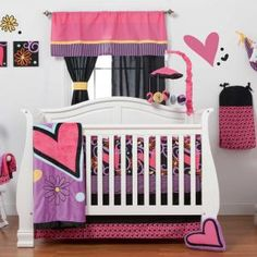 Sassy Shaylee Baby Crib Bedding by One Grace Place