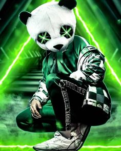 Panda Neon Green wallpaper by AmazingWalls - - Free on ZEDGE™ Wallpapers Android, Panda Wallpapers, Best Gaming Wallpapers, Joker Wallpapers, Cool Wallpapers For Phones, Cute Wallpapers, Full Hd Wallpaper Android, Makeup Wallpapers, Wallpaper Wallpapers