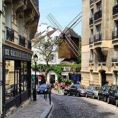 Le Moulin de la Galette a Parigi, Île-de-France