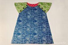 Innocentia: Leela Dress Sew-Along Part 1 : Drafting Patterns - Reversible child's dress
