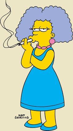 Selma Bouvier (de tante van Bart Simpson)