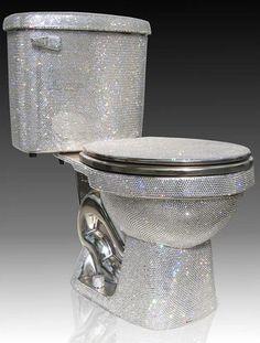 Diamond-Encrusted Toilet- $100,000