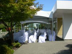 White wedding ceremony